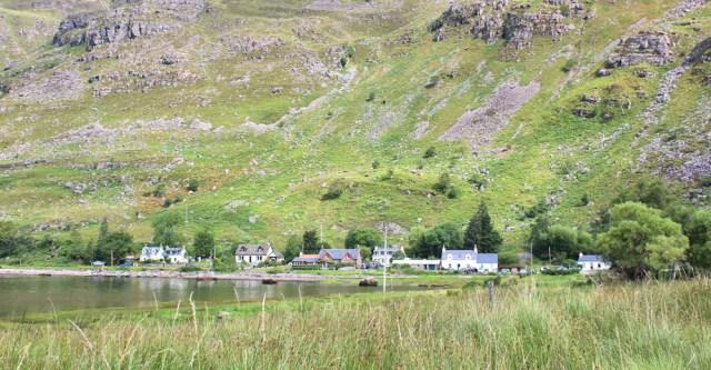 015 nearly at Fasag, Ruth walking the coast of north-west Scotland