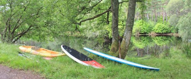 030 boating lake, Torridon House, Ruth's coastal walk around Britain