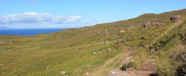 06 featureless landscape, Ruth's coastal walk to Craig Bothy and back, Scotland