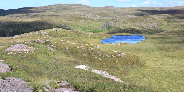 15 Lochan Dubh, Ruth's coastal walk to Craig Bothy and back, Scotland