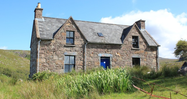 20 front of Craig's Bothy, Ruth's coastal walk around Scotland