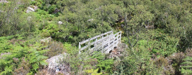21 bridge over Craig River, Ruth's coastal walk to Craig Bothy and back, Scotland