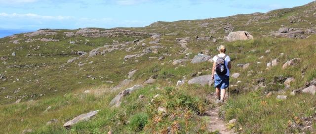25 local walker, Ruth's coastal walk to Craig Bothy and back, Scotland