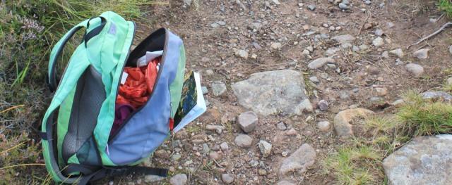 rucksack open