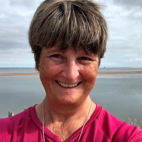 Ruth Livingstone walking the coast